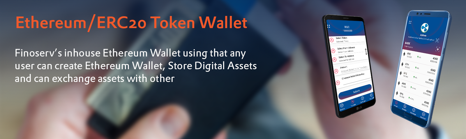 Ethereum/ERC20 Token Wallet